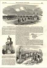 1853 samuelson brevettato di scavare MACCHINA Nuova Landing Pier Margate