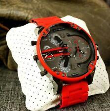 Authentic DlESEL Mr. Daddy 2.0 Gunmetal Dial Quartz Men's Watch DZ7370 New