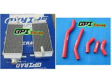 R&LH YAMAHA YZF250 YZ250F YZ 250F 2006 06 aluminium radiator and hose