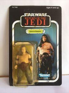 Star Wars Rancor Keeper vintage carded Return of the Jedi Kenner 1983