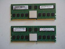 2x IBM Power6 8GB PC2-3200F FRU 45D6529