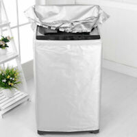 Waterproof Washing Machine Zippered Dust Guard Cover Protect Front/Upper Cover