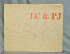Le Corbusier,P. Jeanneret, Oeuvre complète 1934-38,hrsg.v.Max Bill,Erstausg.1939