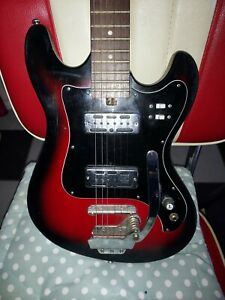 Raver Teisco 60s Guitar Mij great classic vintage guitar