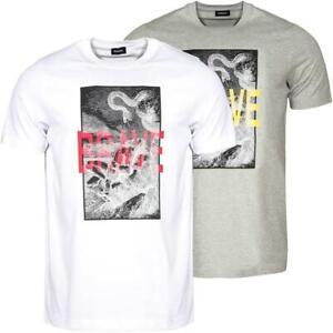 DIESEL T-Just-XZ Herren T-Shirt Tee Shirt Kurzarm