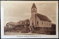 Grantwood NJ ~ Lutheran Church ~ Bergen County Postcard