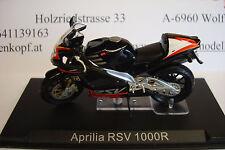 Aprilia RSV 1000 R black  2002  Topmodell  1:24