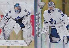 12-13 Titanium Jussi Rynnas /100 GOLD Rookie Maple Leafs 2012