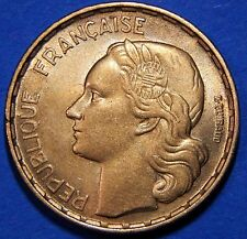 "CH BU France 1951 50 Francs Lustrous Bronze Rooster Mid/↑ ""Sixties"" Grade Coin!"
