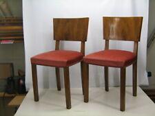 Coppia di sedie anni 40 art deco'