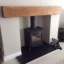Solid Oak Beam Floating Shelf Mantle Piece Fire Place Surround Sanded Log Burner
