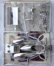 VV Mini 4WD MANTA RAY JR MK.1 SILVER PLATED BODY PART SET (Tamiya 18035)