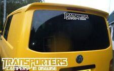 Campers in disguise - VW Transporter, T4, T5, camper decal sticker - rear window