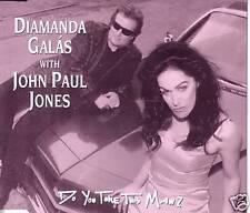 Led Zeppelin JOHN PAUL JONES & Diamanda Galas Do you take / Hex MIX CD Single