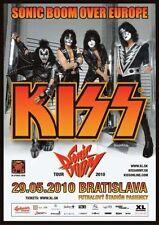 Kiss Repro Tour Bratislave POSTER