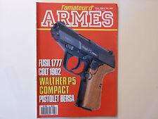 L'AMATEUR D'ARMES N° 88  / MARS 1989