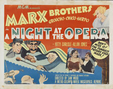 Marx Bros A night at the opera movie poster 23x36 inches approx.