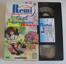 film VHS cartone REMI  NR. 15 2 EPISODI DE AGOSTINI 2004 (F9)  no dvd