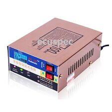 110/220V Intelligent Pulse Repair Car Motorcycle Battery Charger 12V/24V 100AH