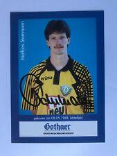 Autogramm MATTHIAS STAMMANN-Dynamo Dresden-Ex-PSV Schwerin/Fortuna Köln-AK