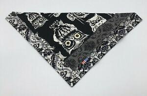 EDC Handkerchief Owls Paisley Frankenhank Everyday Carry Handmade Hanky Gear