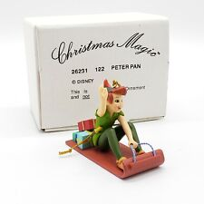 1988 Disney Grolier Peter Pan #26231 Holiday Christmas Tree Ornament In The box