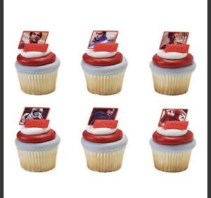 STAR WARS CUPCAKE RINGS The Last Jedi - Toppers, Birthday Party 100 + pieces NEW