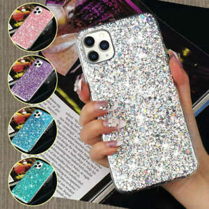 Sparkly Bling GLITTER Case For iPhone XR 8 7 6S Plus Shockproof Protective Cover