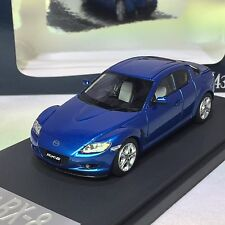 1/43 scale Mark43 Mazda RX-8 SE3P Winning Blue Metallic PM4342BL