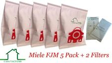 Miele Vacuum Bags FJM Canister 5 Bags & 2 Filters Included 5 Ply Construction