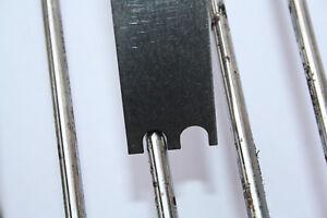Edelstahl Grillrost-Schaber, Grillrostschaber, Grillrostreiniger 4 5 6 8mm