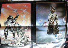 Dr Who Sontaran Omega vintage promo posters A3