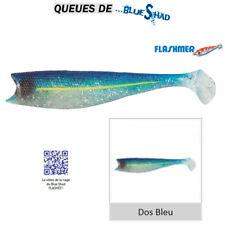 Leurre Flashmer leurres 5x queues Blue Shad 12 cm - dos Bleu (db)