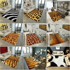 Animal Print Rug Tiger Leopard Rug Living Room Rug Hall Runners Carpet Floor Mat