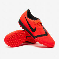 Nike Jr Phantom Venom Academy TF Youth Turf Soccer Cleats AO0377-600 Crimson 5.5