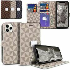 For Apple iPhone 11 Pro Max Luxury Leather Card Slot Wallet Shockproof Flip Case