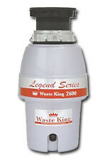 Waste King 2600 L-2600 L2600 Legend 1/2HP 2600RPM Continuous Feed Waste Disposer