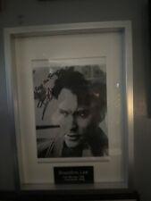 More details for brandon lee autograph/ coa