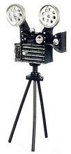 Dollhouse Miniature - Antique Movie Video Camera w/ detached tripod - 1/12 Scale