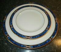 NEW! Lenox Mountain View Dinner & Salad Plates(2) With Stickers~Mint~ Fast Ship!