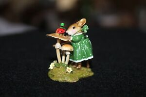 Wee Forest Folk Special Edition Ladybug Chat M-581 St. Patrick's Day Rare
