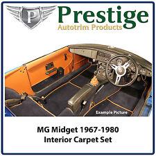 MG Midget / AH Sprite Interior Carpet Set Carpets Floor Mats 1967-1980