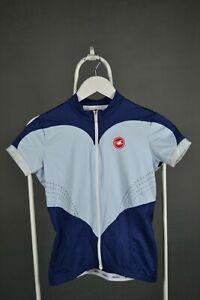 Castelli Women's Short Sleeve Cycling Jersey Size Medium M