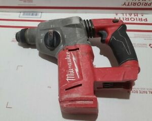 """Milwaukee M18 Fuel 2712-20 1"""" SDS Plus Brushless Cordless Rotary Hammer Drill"""
