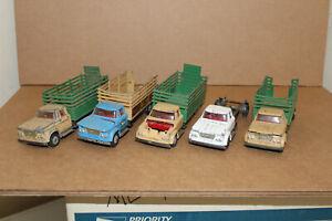 Corgi Dodge Kew-O-Rama - A 5-Pack of Very Well Used Dodge Trucks - MS4 C2