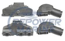 Scarico Collettore & Alzata Set per Volvo Penta V6 Pre 94,AQ175,AQ205,431,432