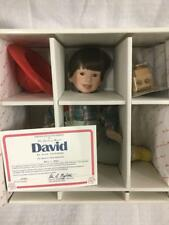 "Danbury Mint Doll ""David The Fire Chief 1991 +"