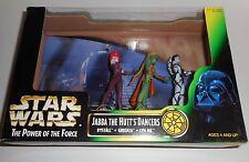 KENNER STAR WARS POTF Jabba The Hutt's Dancers Rystall Greeata Lyn Me 1998 NIB