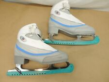 Riedell Ice Skates Women'S 9 With Blade Protector Sleeve