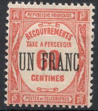 TIMBRE TAXE FRANCE année 1929/31 n°63 NEUF*